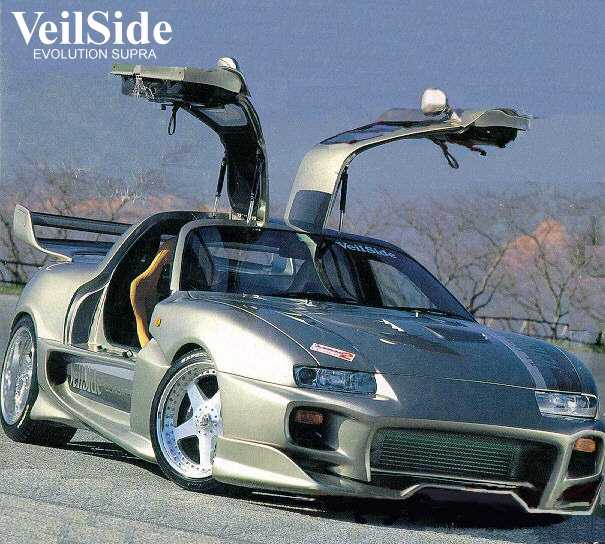 Toyota Supra Gallery. » & Picture Gallery New Cool Pics veilside toyota supra gullwing 02