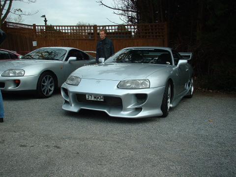 Veilside Supra Veilside Toyota Supra Silver