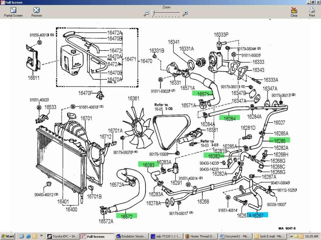 7mgte engine diagram